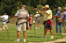 Busy registered trap shoot